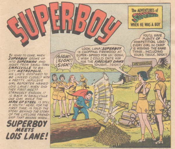 Teen Summer Camp Superboy resized 600