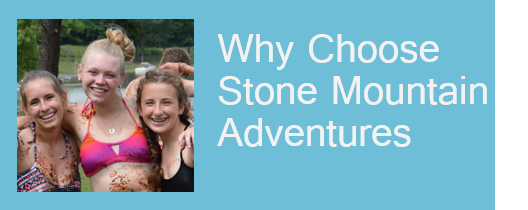 Summer Camps for Teens Ages 12 to 16: Stone Mountain Adventures