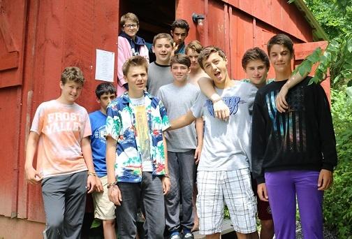 overnight teen camp