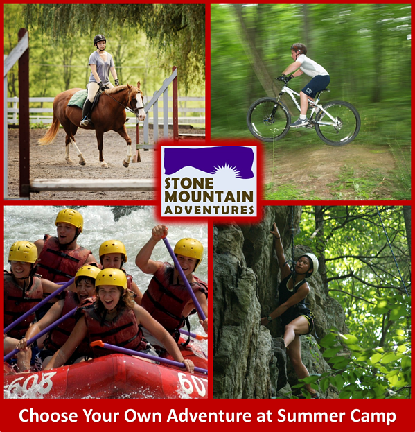 Choose your own adventure at camp Red
