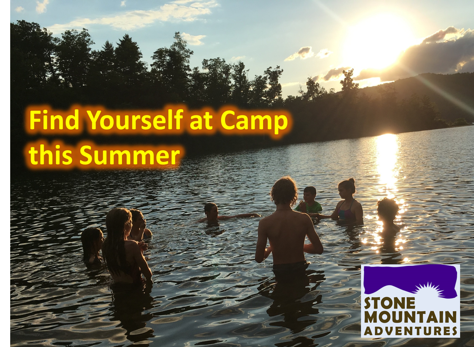 Find Yourseld at Camp THis summer 3-2